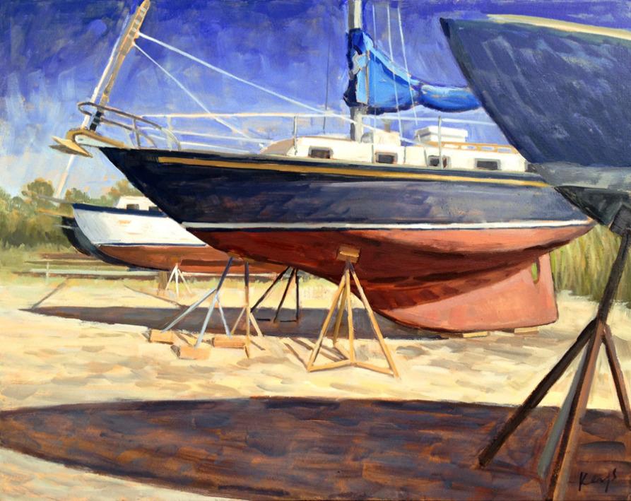 Dry Docked Boats