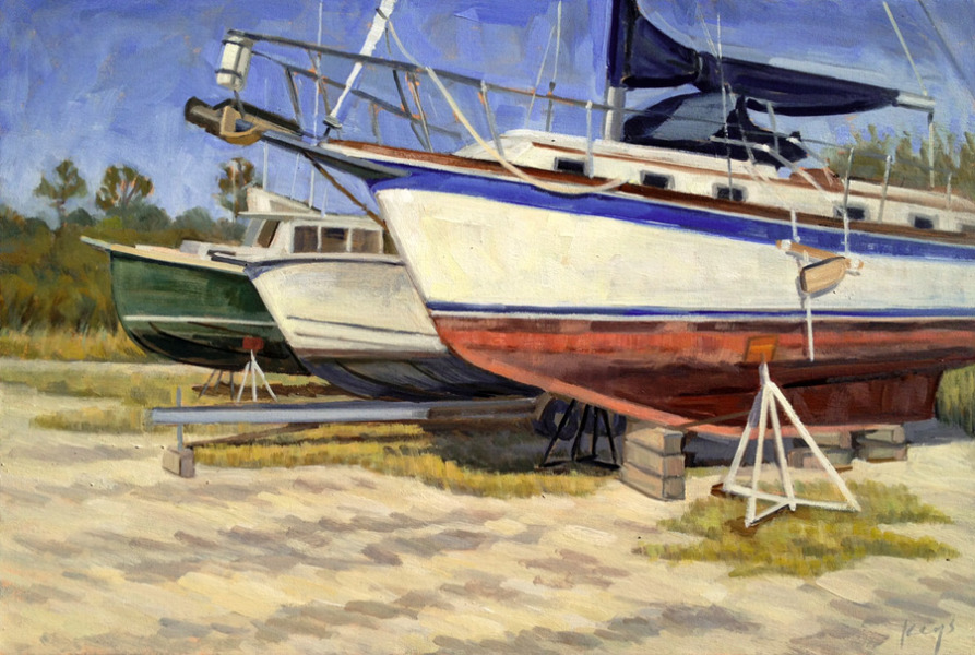 Dry Docked Boats II