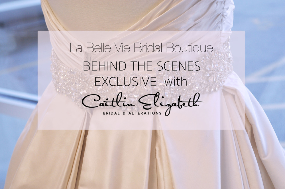 Blush Wedding Dress with Rhinestone Bridal Sash