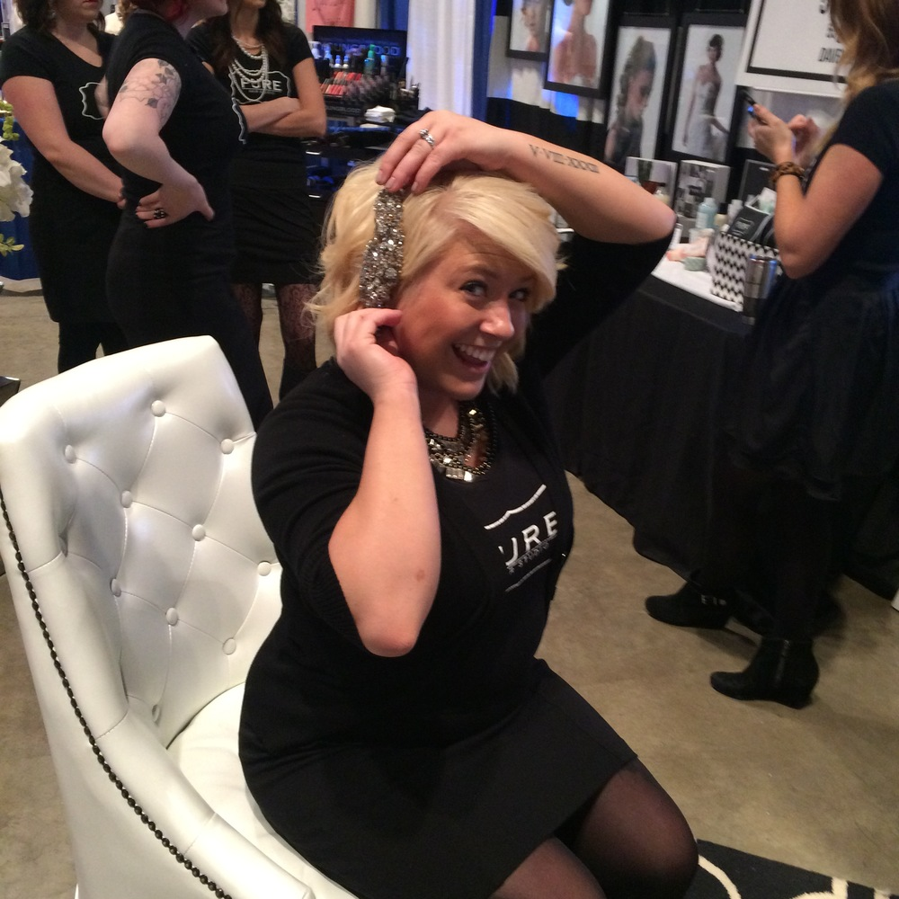 Caitlin Elizabeth Bridal and Alterations Davenport Bridal Expo