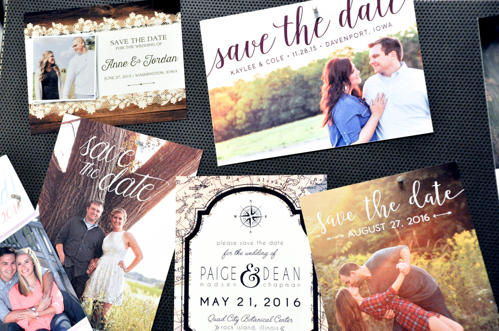 Caitlin Elizabeth Bridal and Alterations || Noted Design, Wedding Invititations