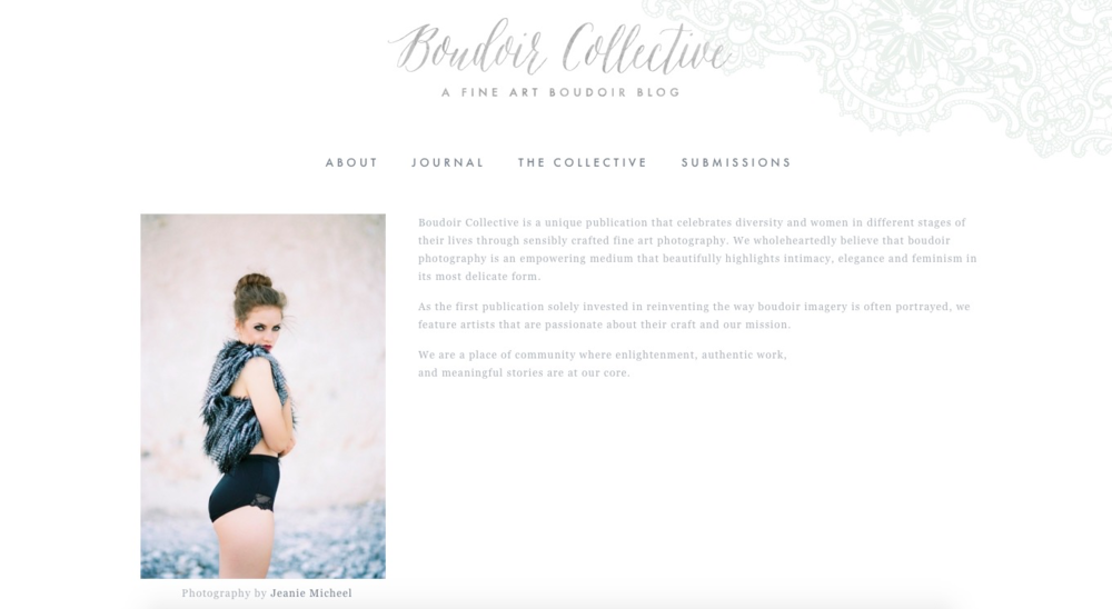 Boudoir Collective || Caitlin Elizabeth Bridal and Alterations