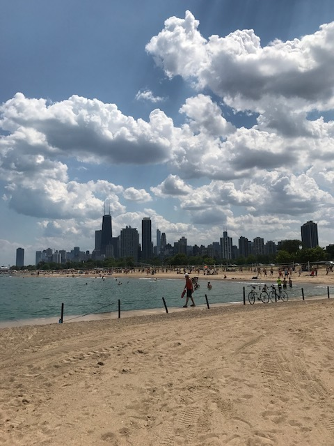 North Avenue Beach Chicago Downtown