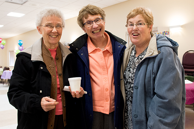 Sr. Maureen Harris, friends.jpg