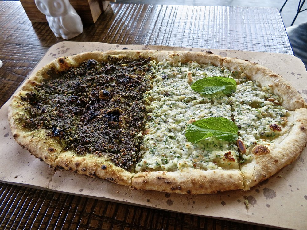 Zaatar & Cheese Fire Bread, Coca Room DXB