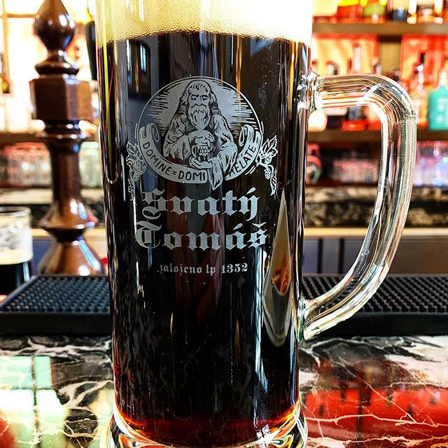 St Thomas Beer was brewed on site from 1352 to 1951. The brewing tradition was rebuilt when the monastery passed its secret recipient to the hotel in 2009 allowing the dark lager to live again.