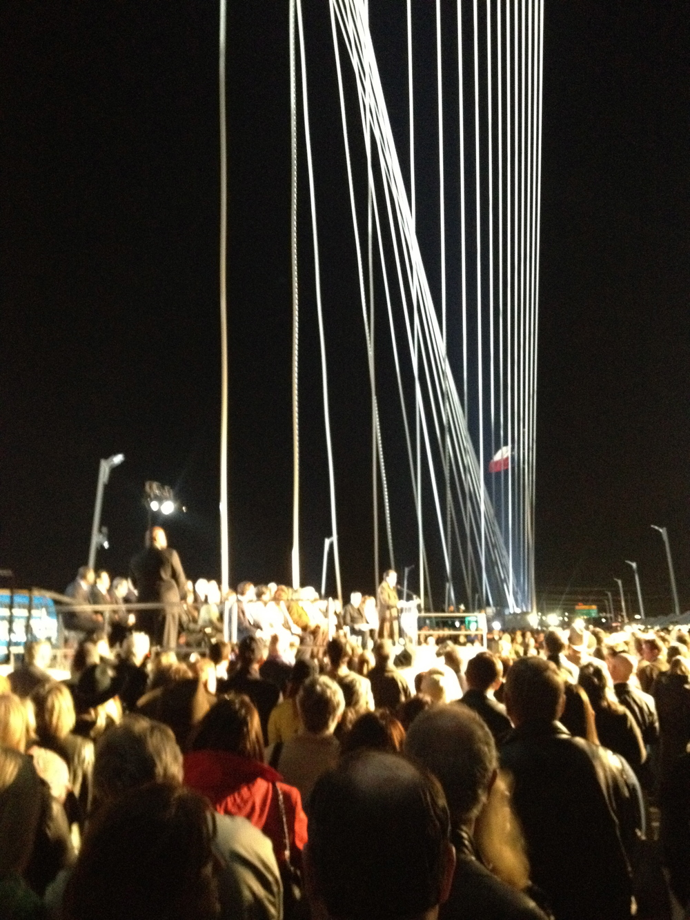 Calatrava bridge opening