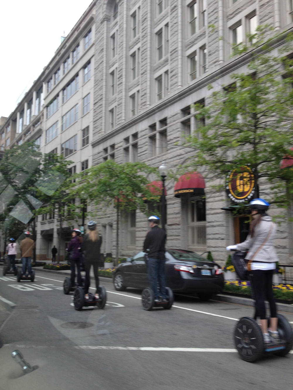 Segway tourists, DC