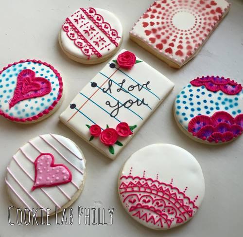 Valentine S Day Cookie Decorating Party Debbie Werlin