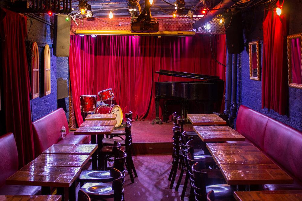 Cornelia St. Cafe Underground stage