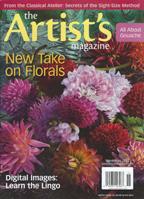 Artists Magazine, November, 2012