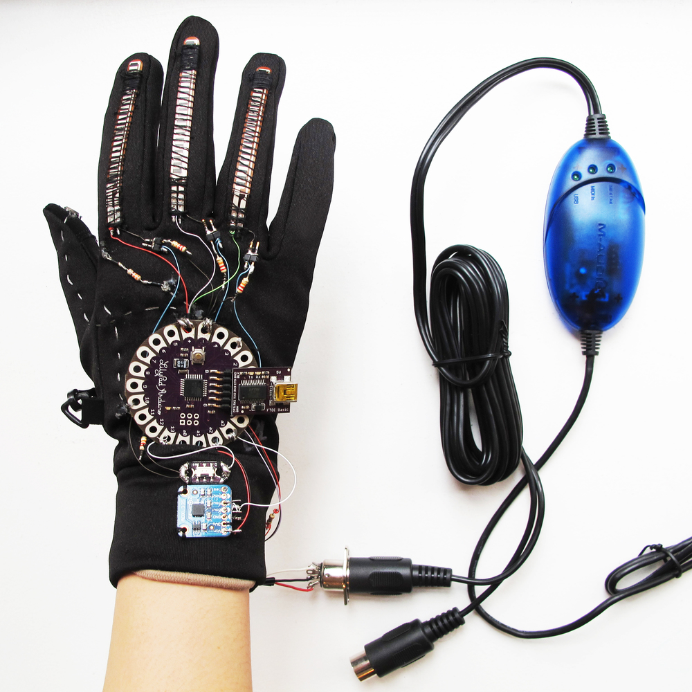 MUSICAL GLOVE Smart Wearable
