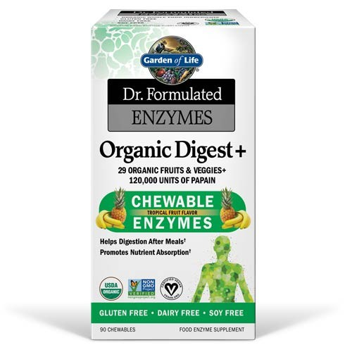 Garden of Life Dr. Formulated Enzymes Organic Digest + — The Organic ...
