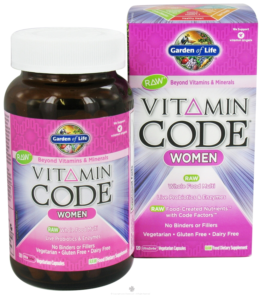 garden of life vitamin code raw women - Garden Of Life Vitamins