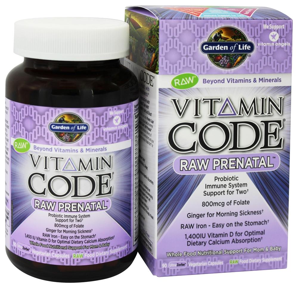 garden of life vitamin code raw prenatal - Garden Of Life Prenatal