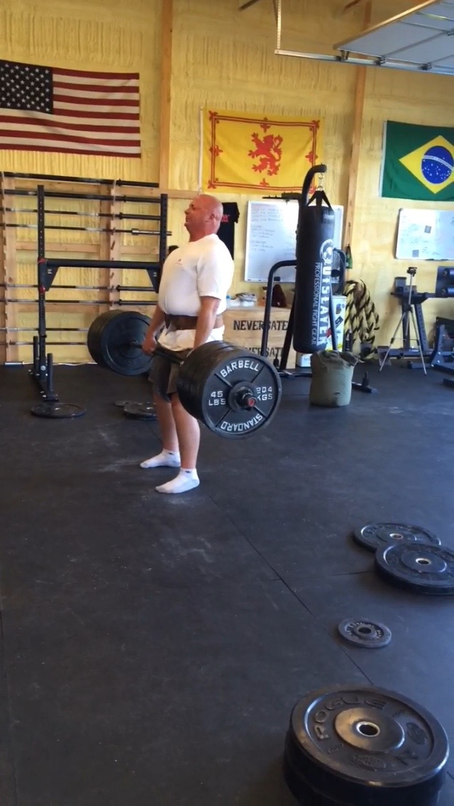 NEVER sate Athlete David Lee turned 50 years old a few weeks ago and hit a lifetime Deadlift PR of 500lbs Monday Night! Big Congratulations Dave, I am beyond proud of you!