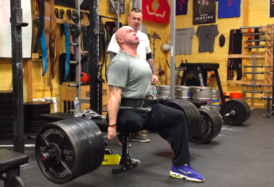 Adaptive Strongman Tom Pulling 500lbs on the seated Deadlift!