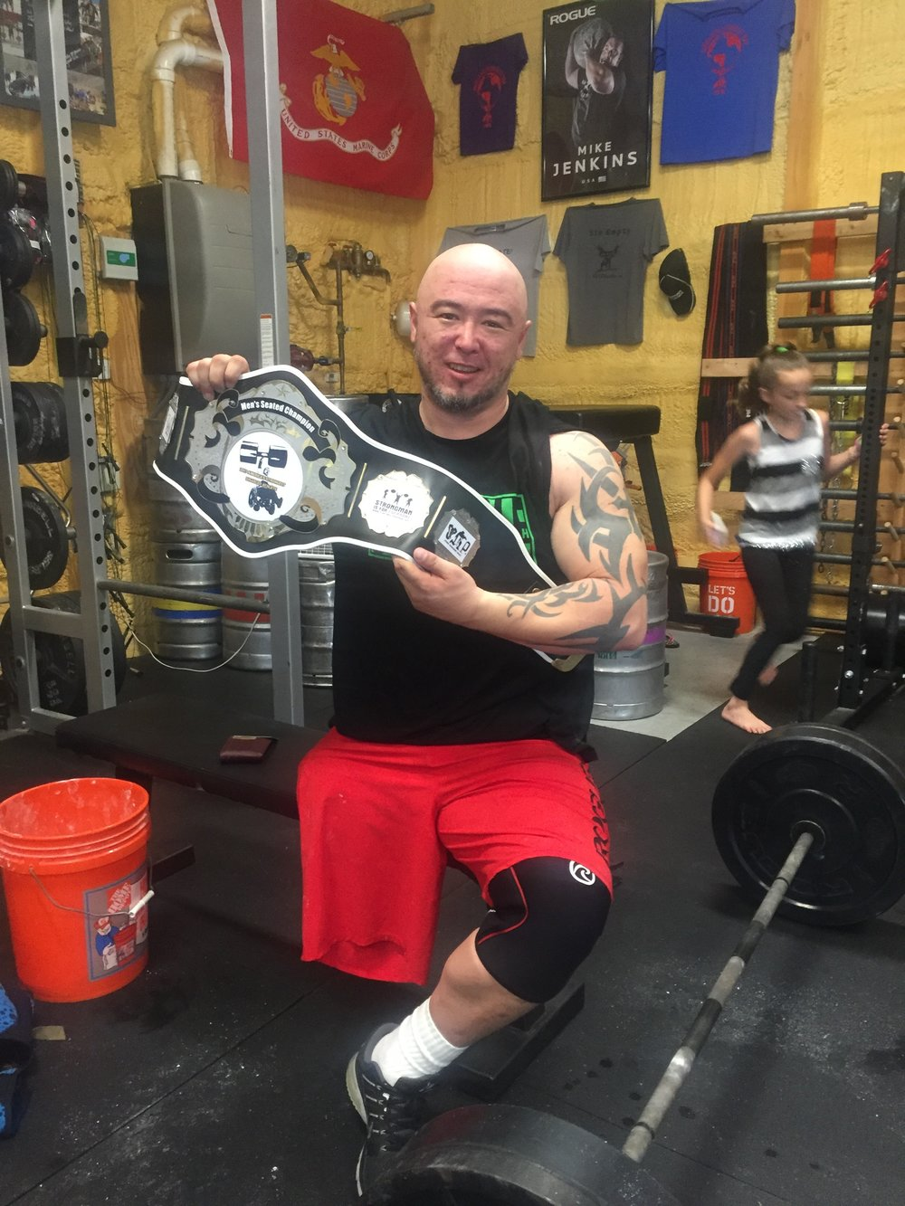 Your 2017 America's Strongest Adaptive Athlete, Tommy Ahn. I cannot tell you how proud of you I am brother! The Nicest, Strongest Man Around!