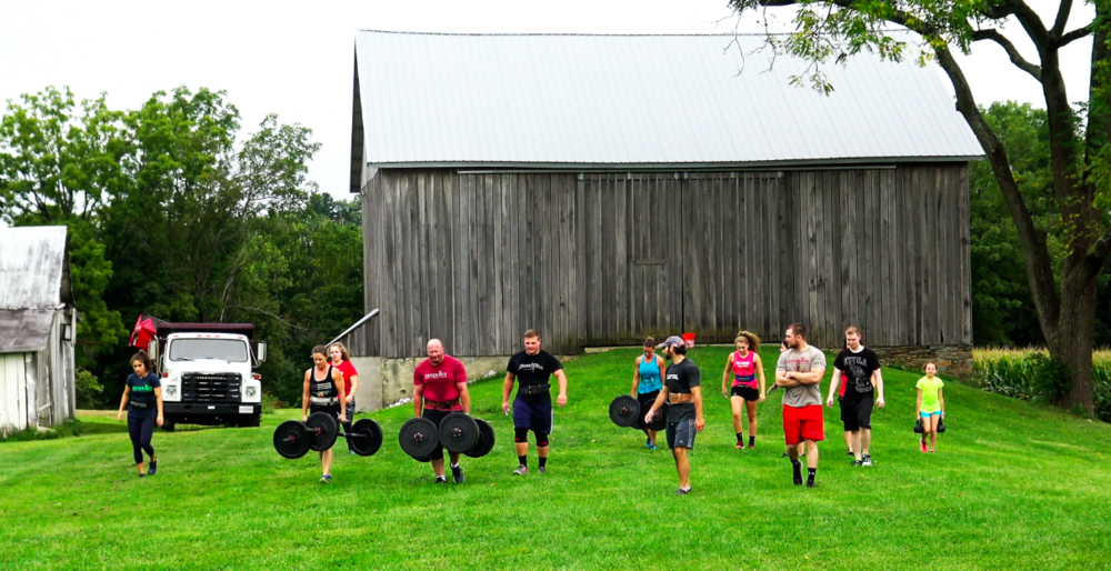 """When your """"gym"""" is more of a family than a place to workout."""