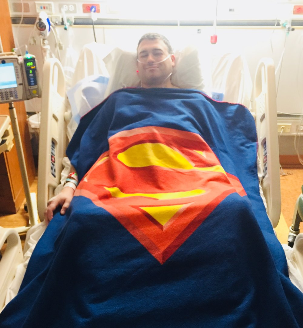 NEVERsate Athlete, Matt, Donated his Kidney Thursday...You don't need to lift 1,000lbs to be a Superman...