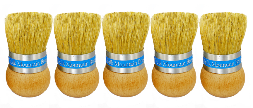 Our brushes sold under the name Chalk Mountain Brushes