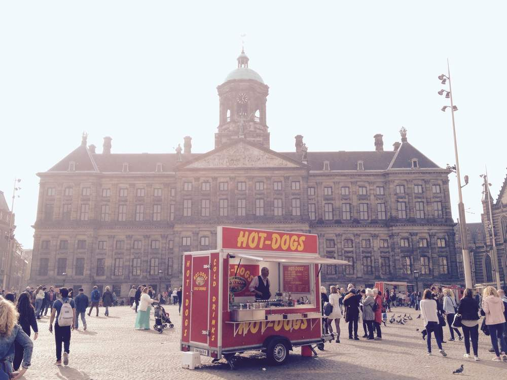 Hot Dogs in Amsterdam