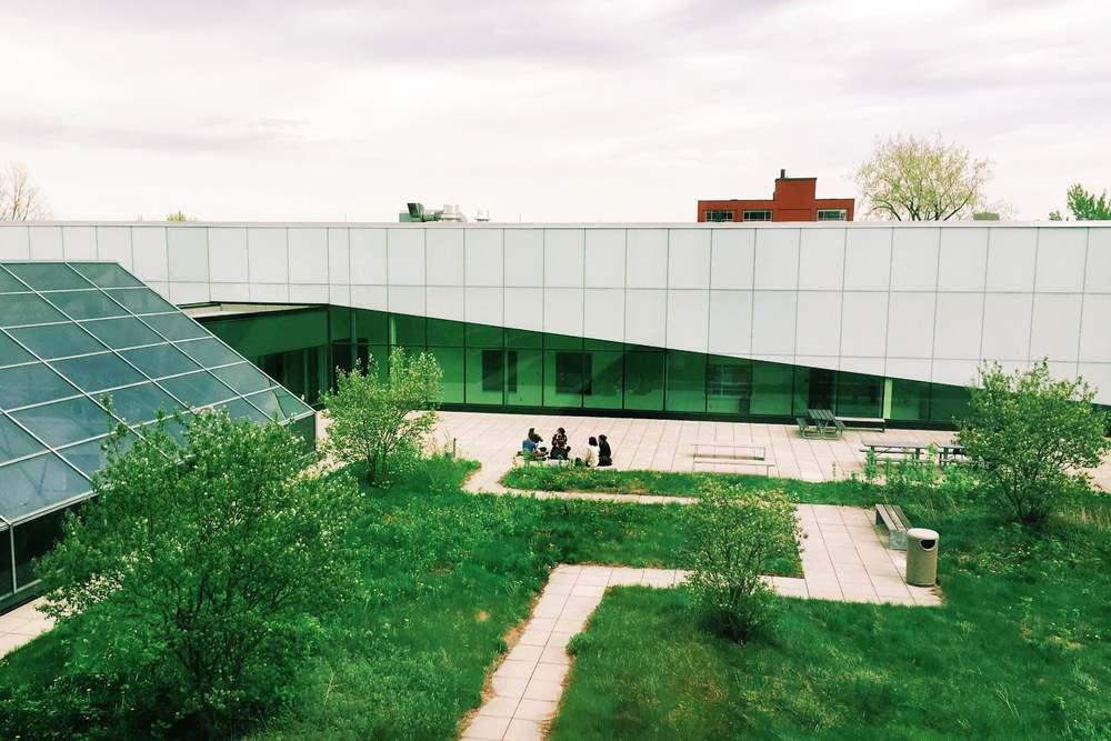 Jardin du Conservatoire de Musique de Montréal