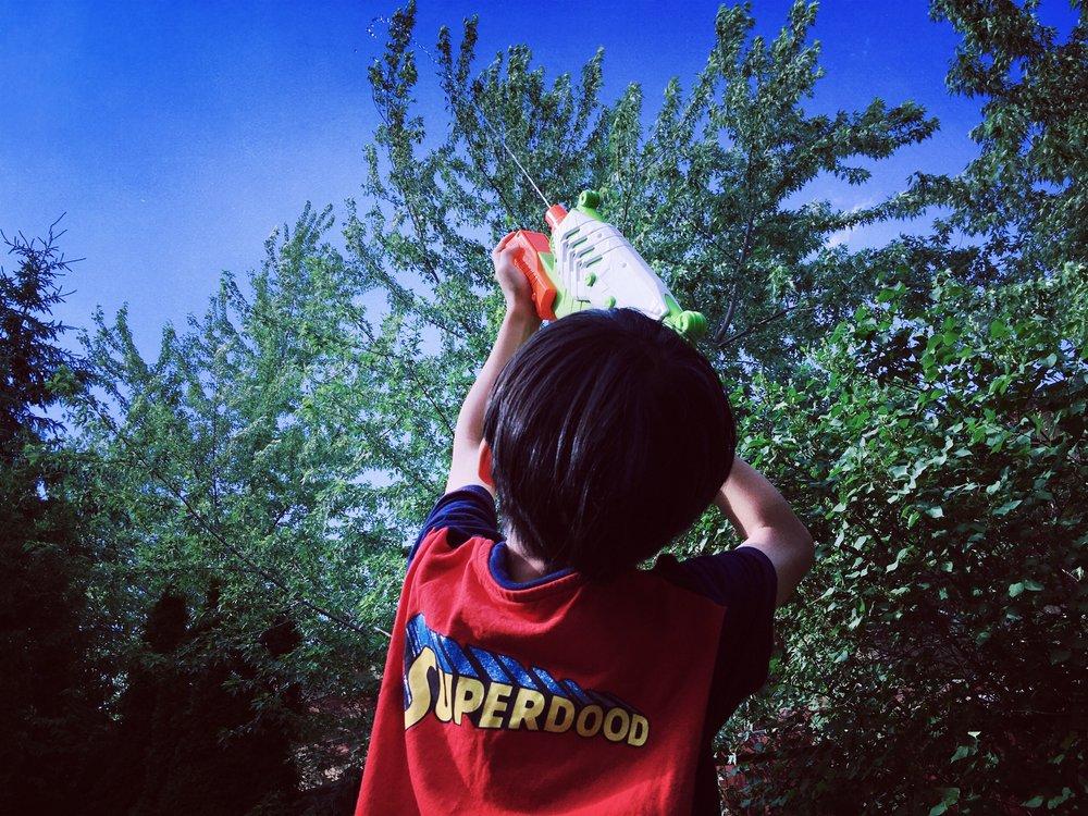 Super nephew