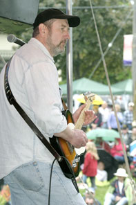 Bruce Ley at the Orangeville Blues and Jazz Fesitval