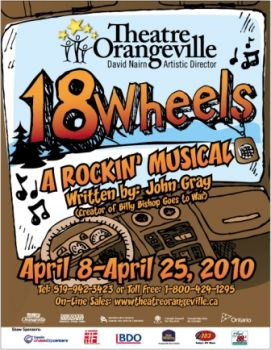 Poster for 18 Wheels