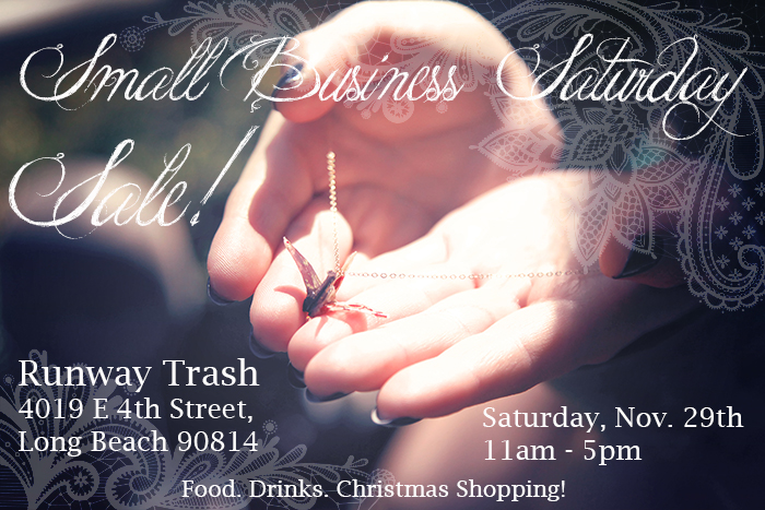Clockework and Lace is going to be at the Runway Trash Sale this Saturday! :)