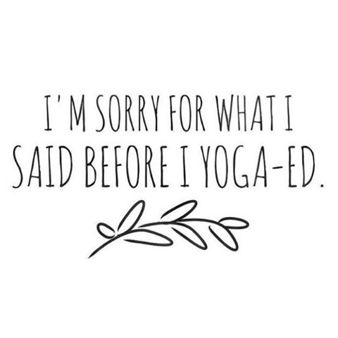 Don't worry about it, fam. See you at the mat? Nice.  5:30 slow flow w/ Candice 🐌 6:30 power flow w/ Joe 💪 7:30 advanced w/ Candice 💯