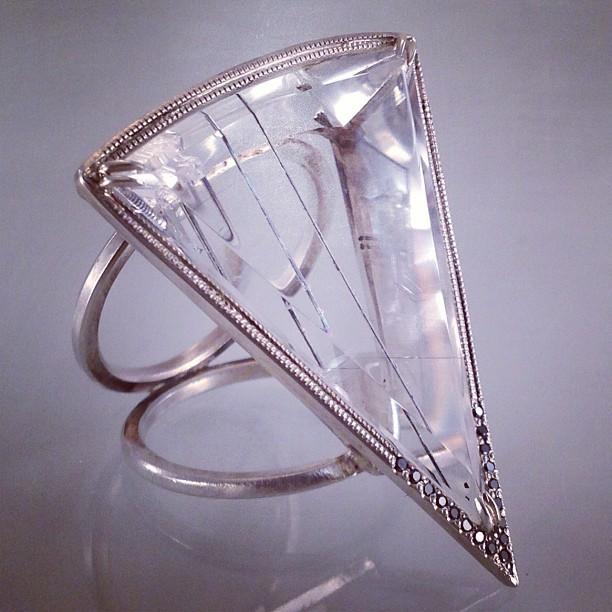Auric Field black diamond and tourmalated quartz ring.jpg