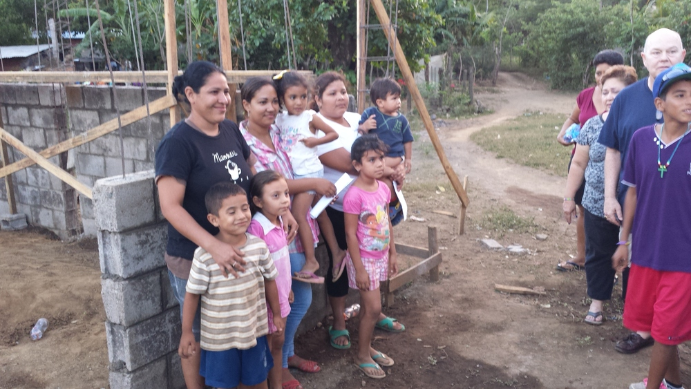 New homes dedicated to God's glory, for God's people! (Telica, Nicaragua. 1/10/14)