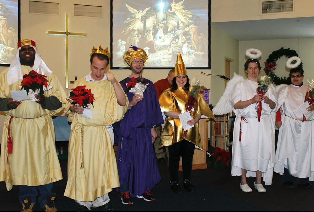 "Heritage Christian Services friends and family members produced our 2014 Christmas Pageant ""The Little Lost Star"""
