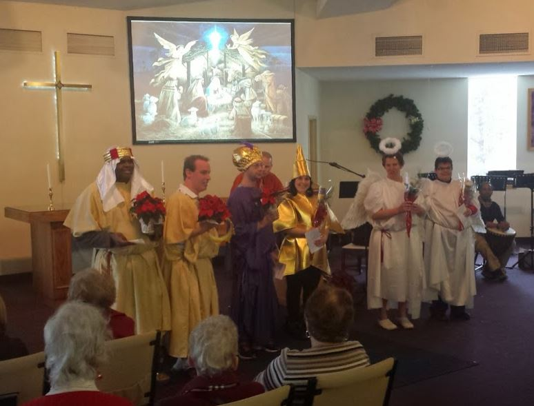 Our Christmas Pageant from 2014. What fun!