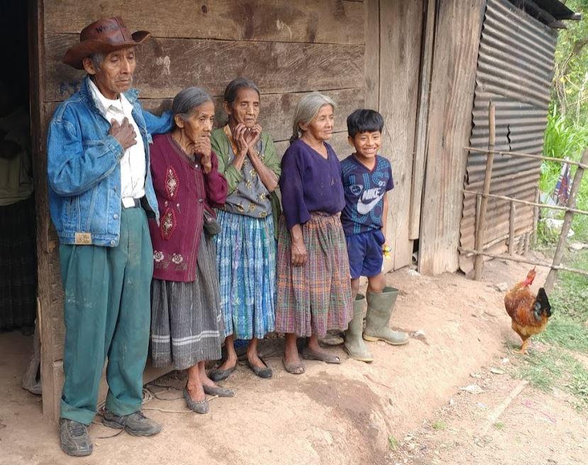 Home visit, Coban Province, Guatemala. 8/18