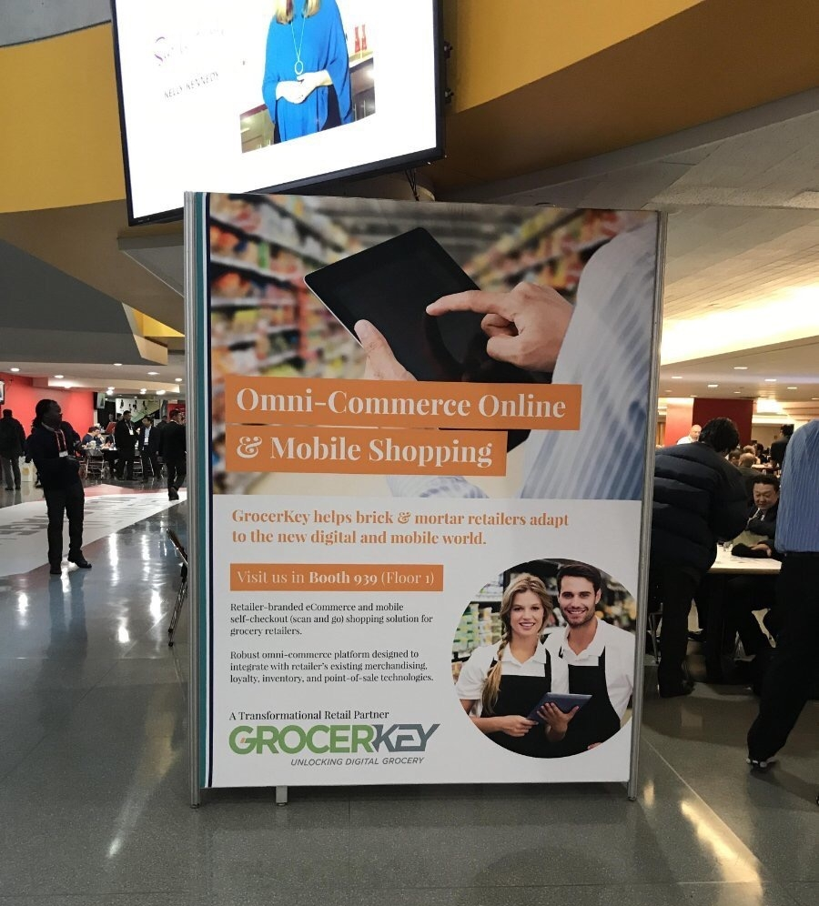 GrocerKey column wrap at NRF2018