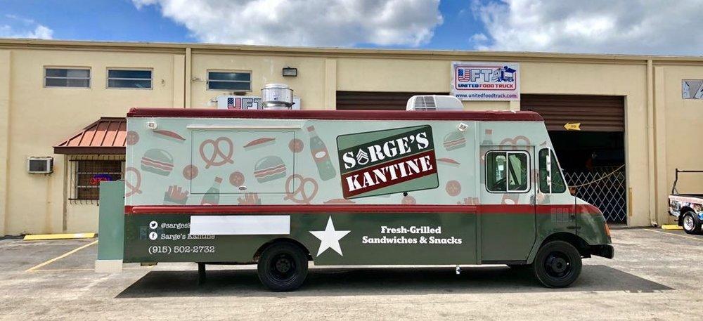 Sarge's Kantine Food Truck