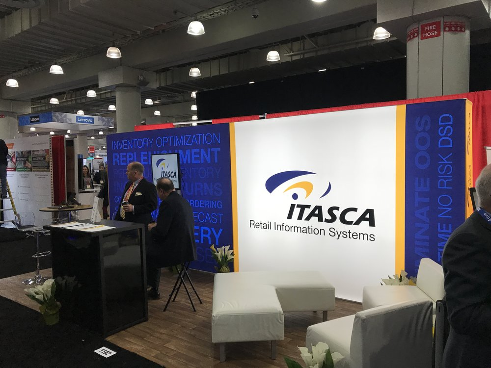 Itasca Booth at NRF 2019