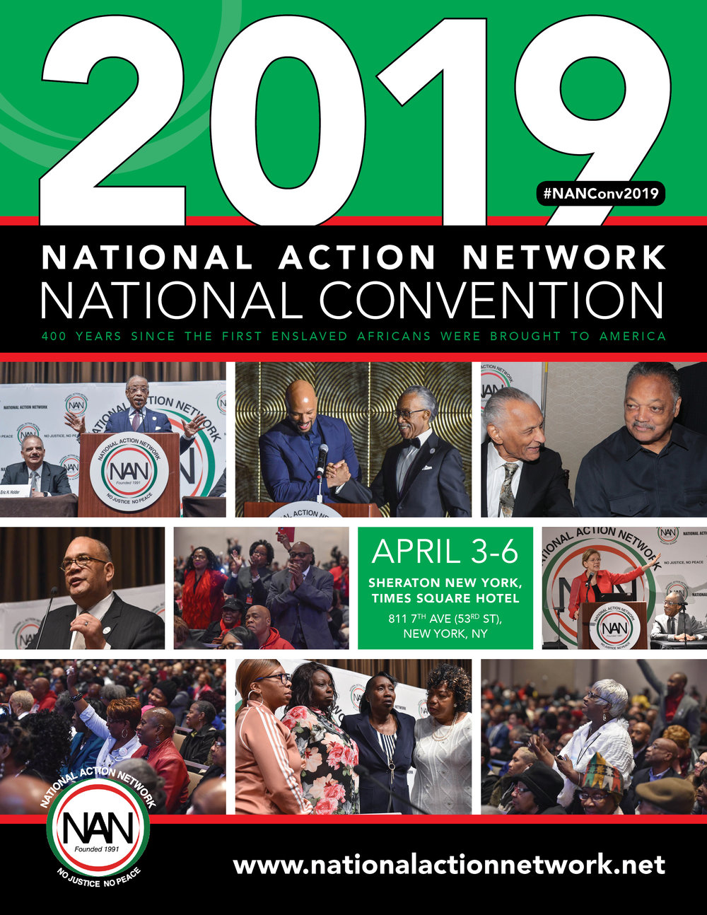 2019 National Action Network Convention Materials