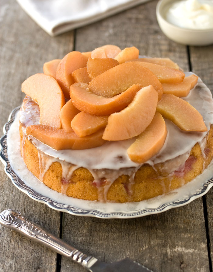 Vanilla Quince Cake from Drizzle & Dip