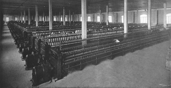 The Jute Factory that employed the inhabitants of Vila Maria Zélia. 1917