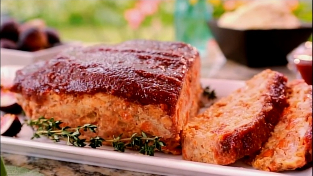TURKEY MEATLOAF WITH FIG CATSUP