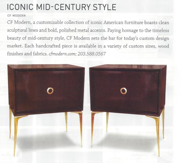 LUXE Interiors + Design Magazine   |   Summer 2012   |   Stiletto Benches