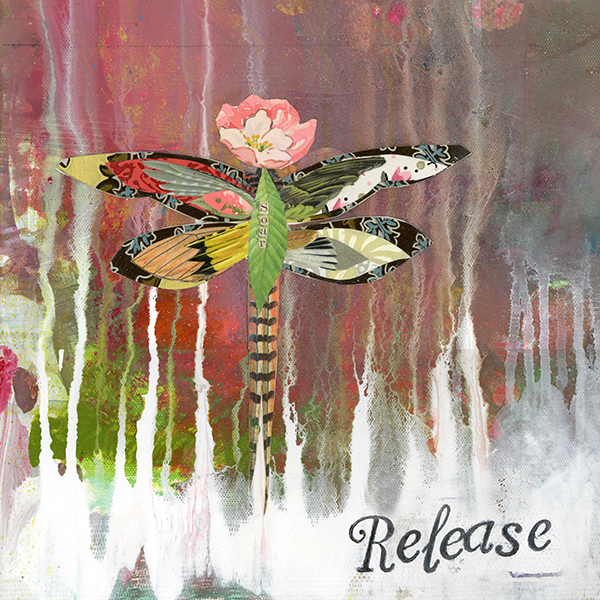 """Release"" © Kelly Rae Roberts"