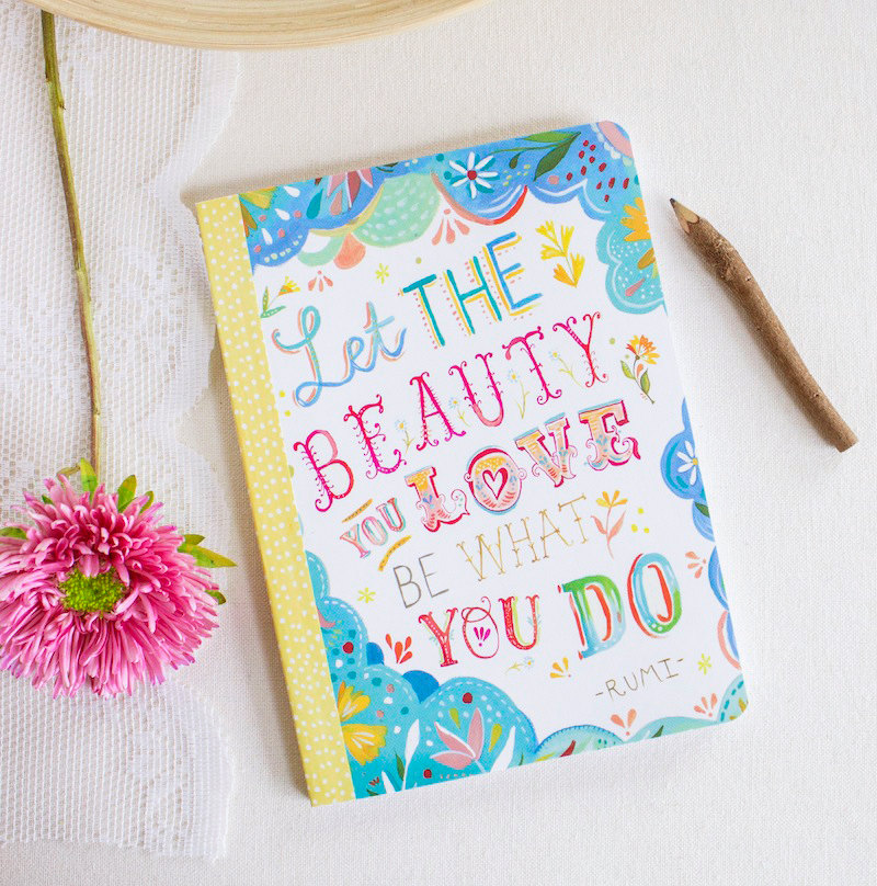 "Katie's ""Beauty You Love"" journal with Madison Park"