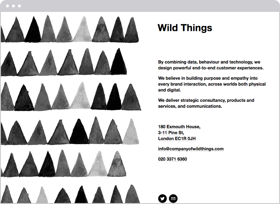 Wild Things, agency
