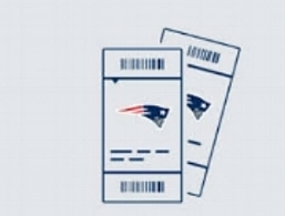2 Choice Tickets (50 yard line) to this year's Patriots 1st Round Playoff Game -