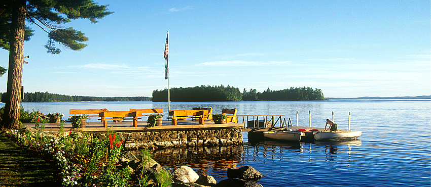 Migis Lodge on Sebago Lake (ME)